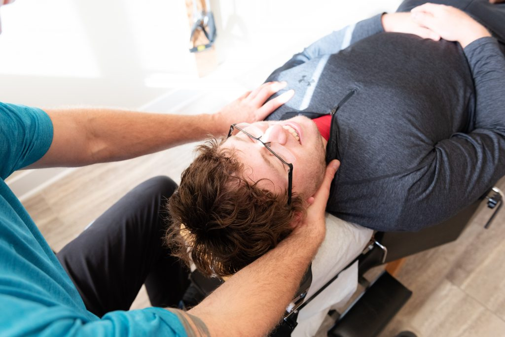 Chiropractic Adjustments for the neck-st. peter, MN