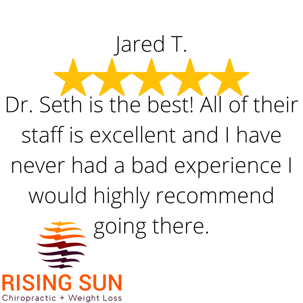 5 star review chiropractor-st. peter, MN